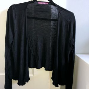 Sweaters - 3 for $15 💜 Black open knit cardigan